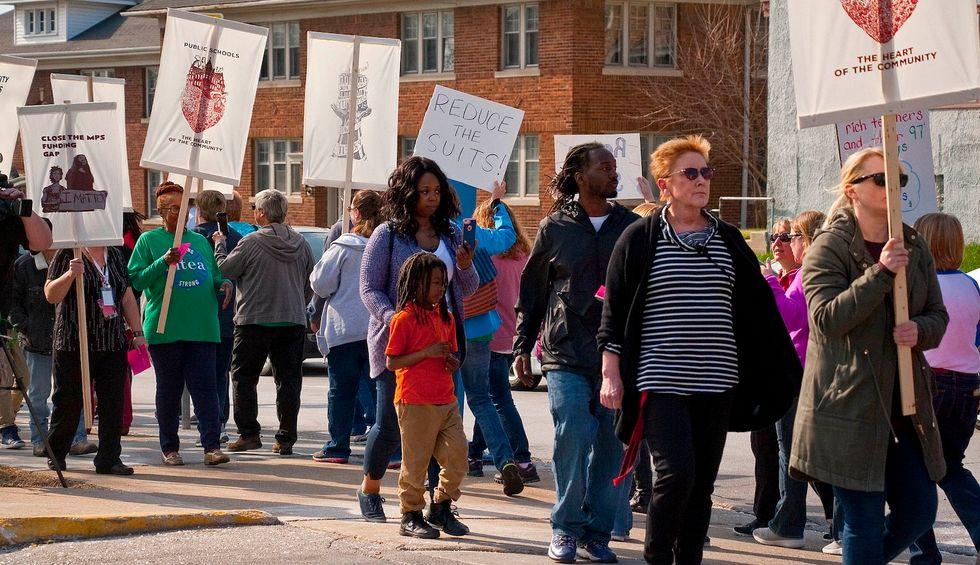 A community of color was failed by 30 years of school choice —now teachers push a positive alternative