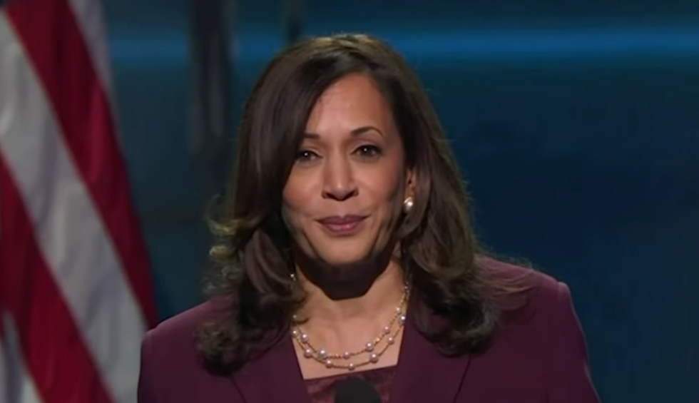 'I know a predator when I see one': Kamala Harris and the women of the DNC take on a man without morals