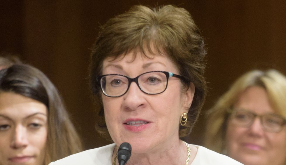 Susan Collins attacked me and said I 'threatened' her — here's the truth