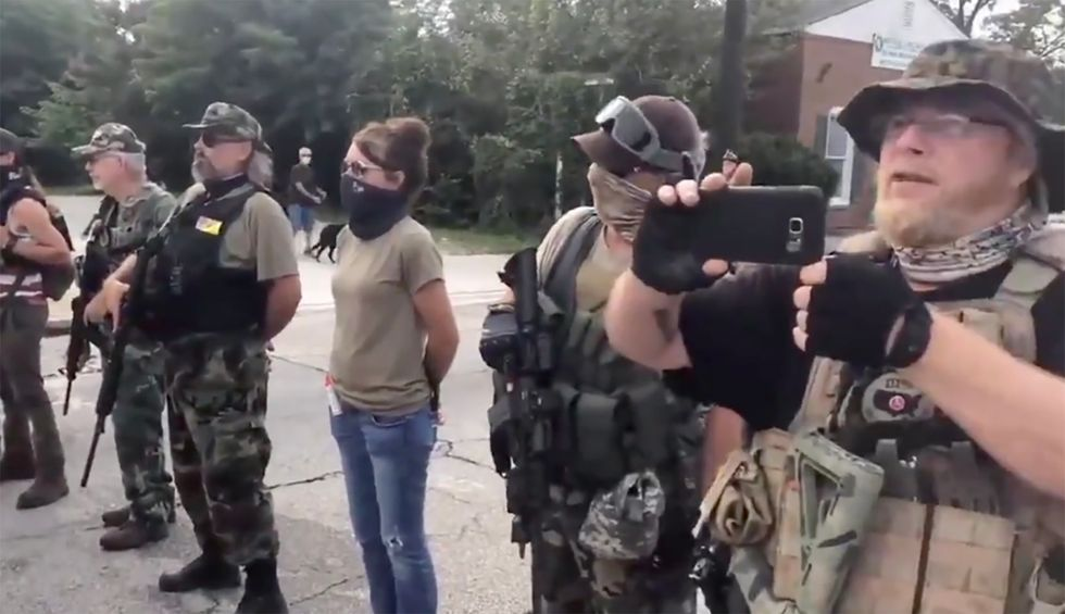 'Go home, racists!': BLM counterprotesters shout down white nationalists in Georgia