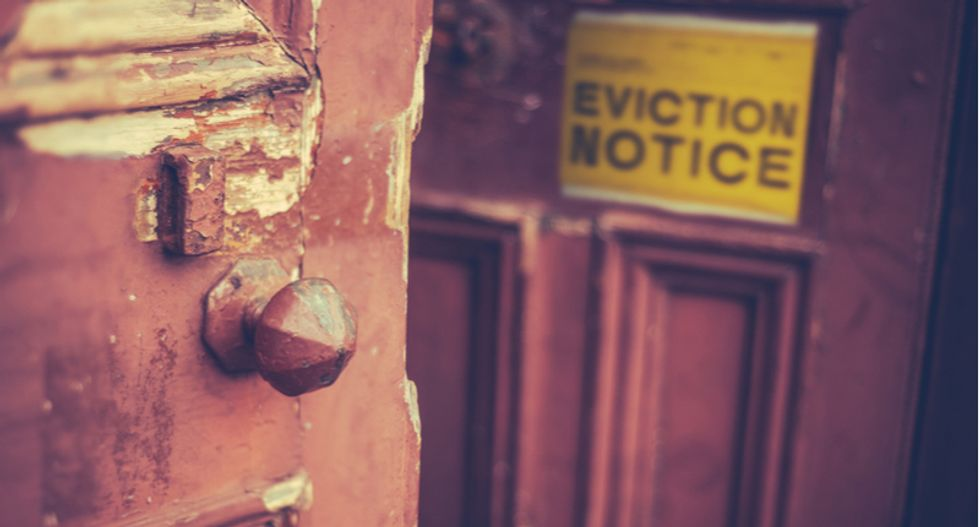The developing eviction crisis is a stealthy form of voter suppression