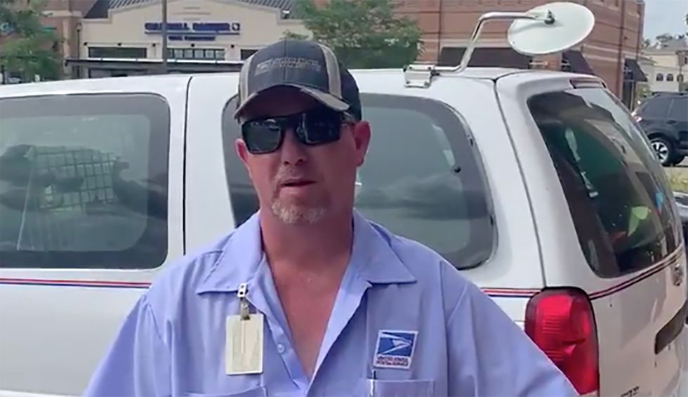 US Postal Service worker speaks out: 'The mail is there. It's just not coming to us'