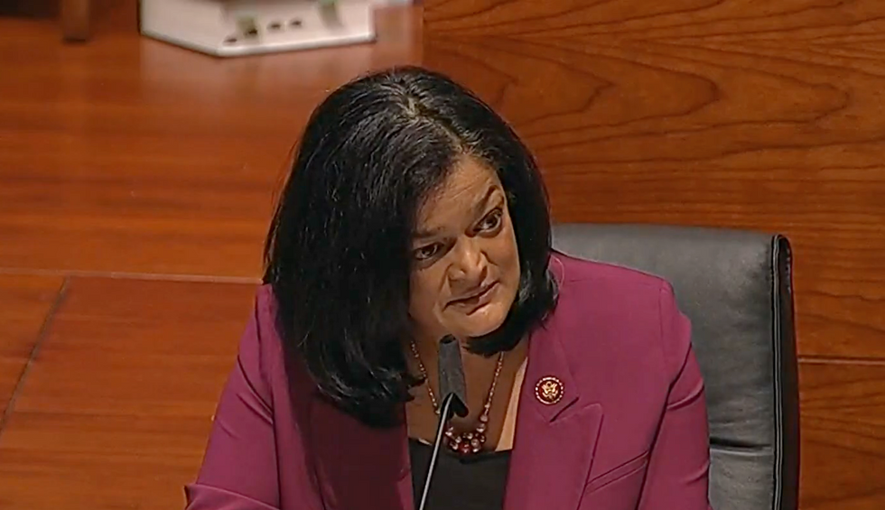 'I'm starting to lose my temper': Rep. Jayapal unleashes on Bill Barr for ignoring right-wing extremists