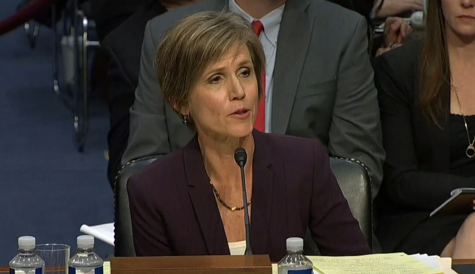 Here's why Sally Yates' testimony was devastating to Trump's 'Deep State' conspiracy theories