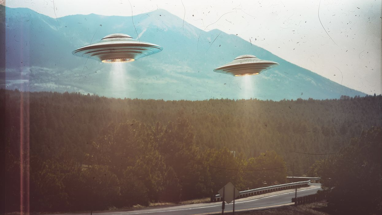 No evidence UFOs seen by military personnel are alien spacecraft, new report finds