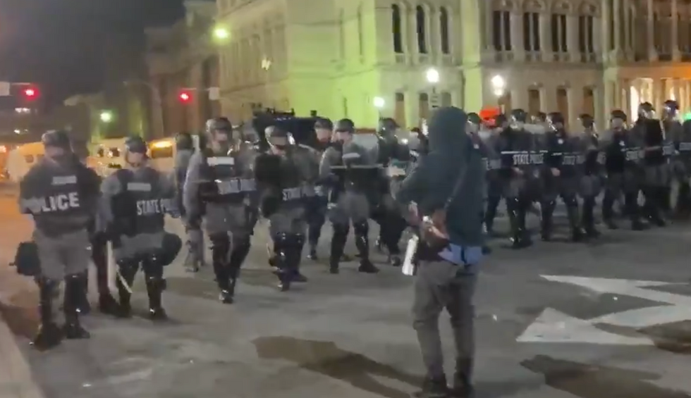 Reporters from a conservative outlet get arrested at Louisville protests