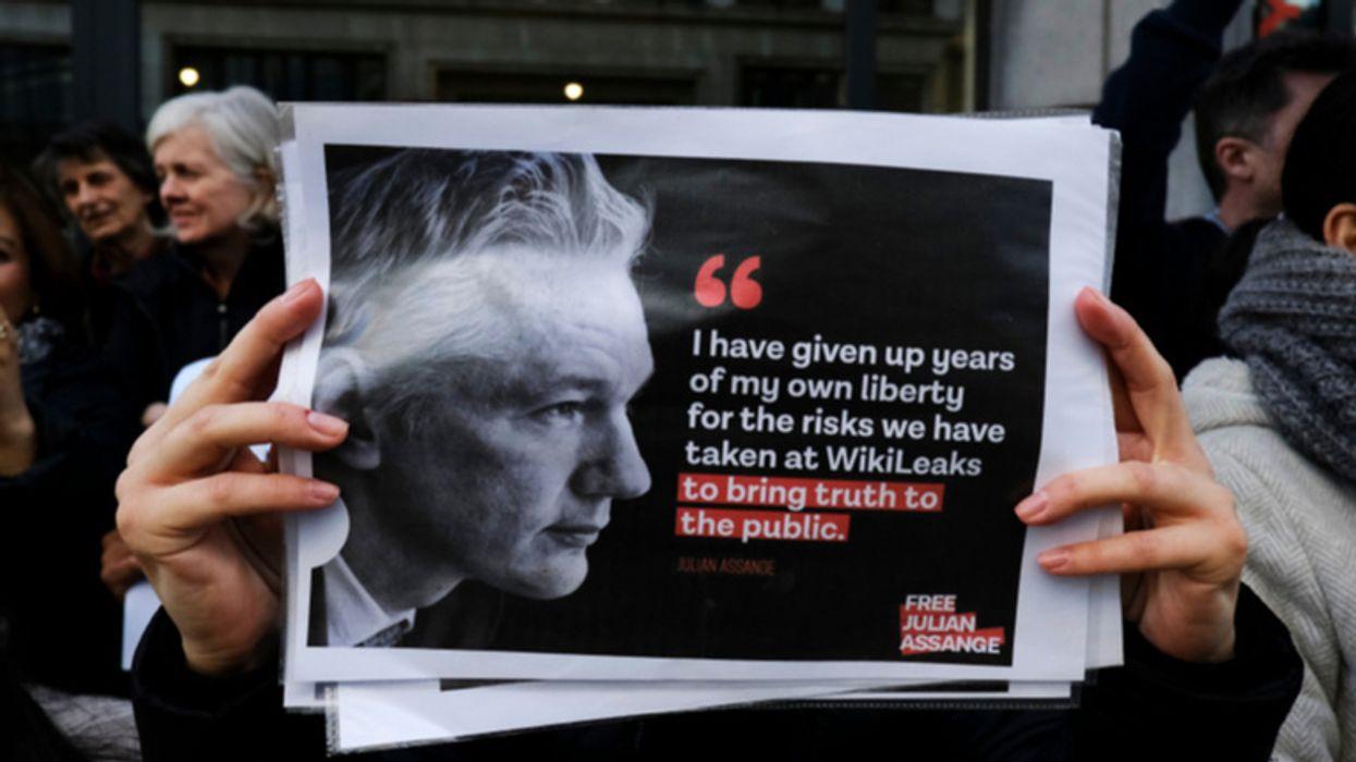 Julian Assange: Press shows little interest in media 'Trial of Century'