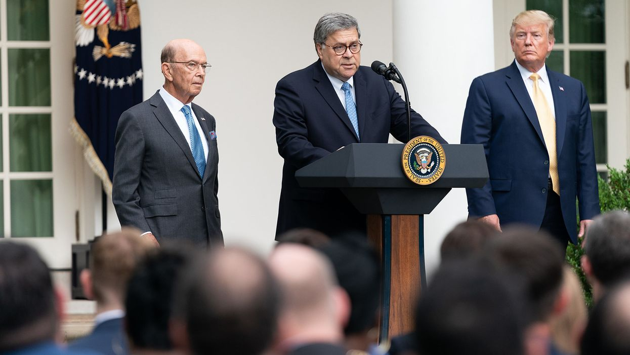 Ethics groups demand Congress impeach Barr for using DOJ as 'vehicle' to advance Trump reelection