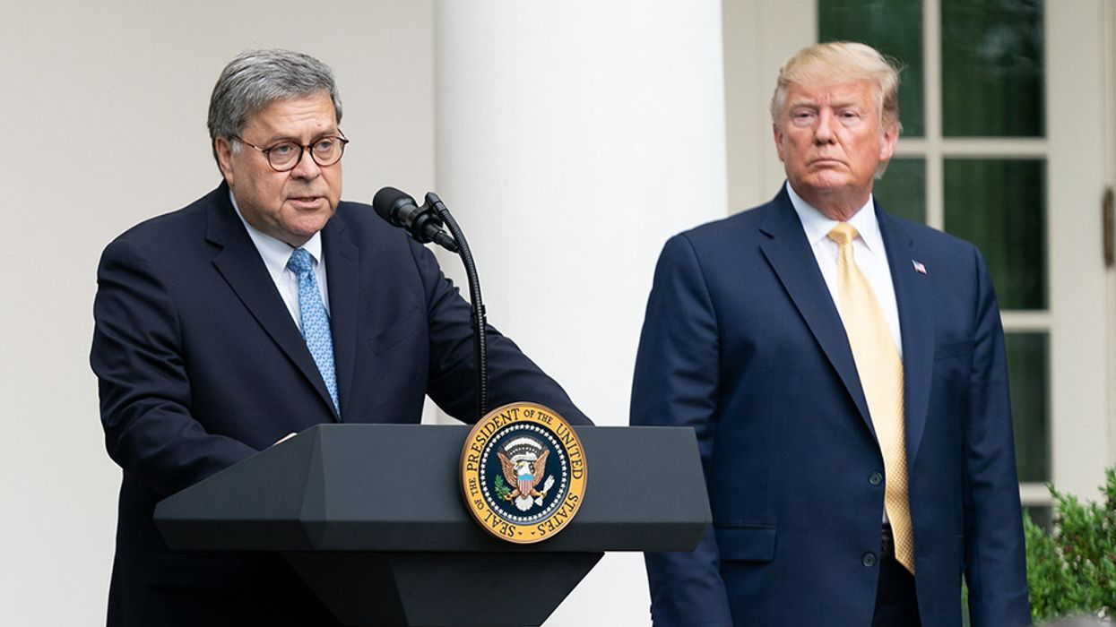 New report warns of Bill Barr's devious voter suppression gambit