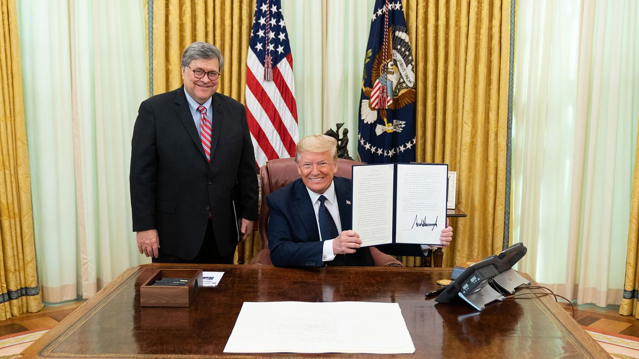 Bill Barr battles the rule of law: In this war, there are no bystanders