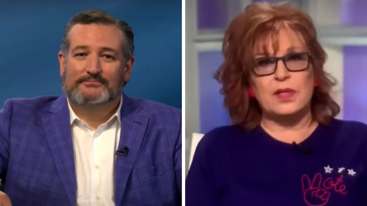 'The View' hosts corner Ted Cruz over lame attempt to blame Democrats for COVID-19 deaths