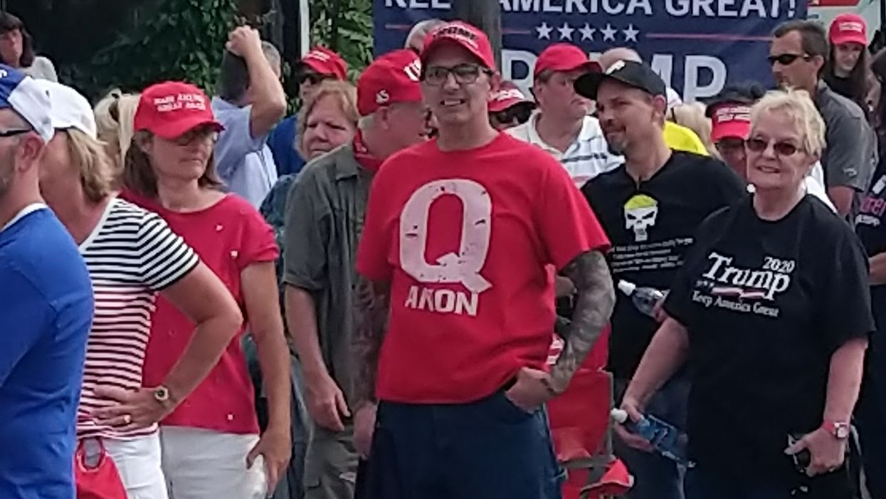 Right-wing QAnon groups see their pages banned across all Facebook platforms