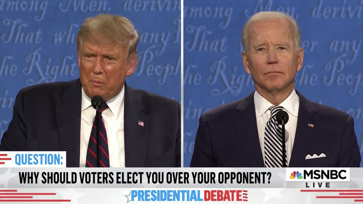 Here are 5 stunning moments from Biden and Trump's first debate
