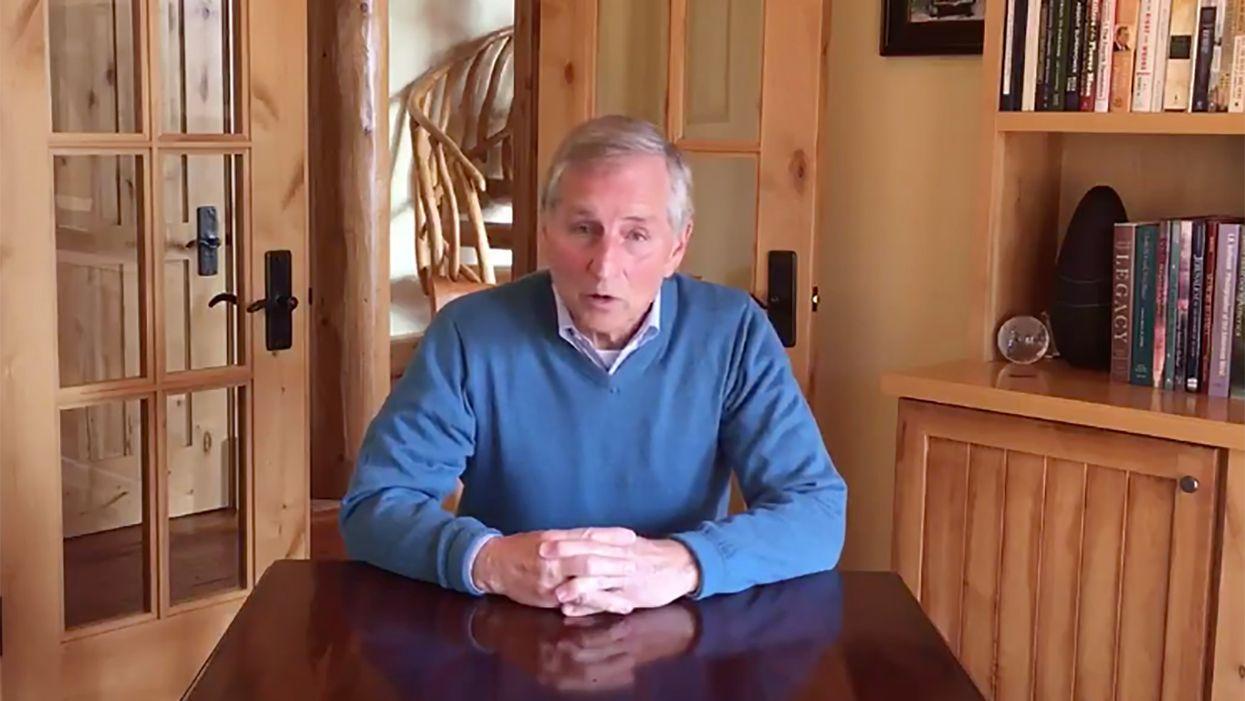 Former RNC chair and Montana governor spurns his party to endorse Joe Biden
