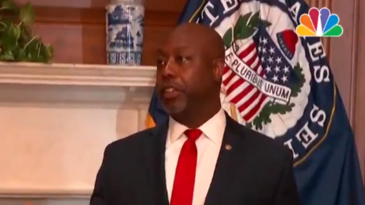 GOP Sen. Tim Scott faces Twitter firestorm over gaslighting remarks about the severity of white supremacy