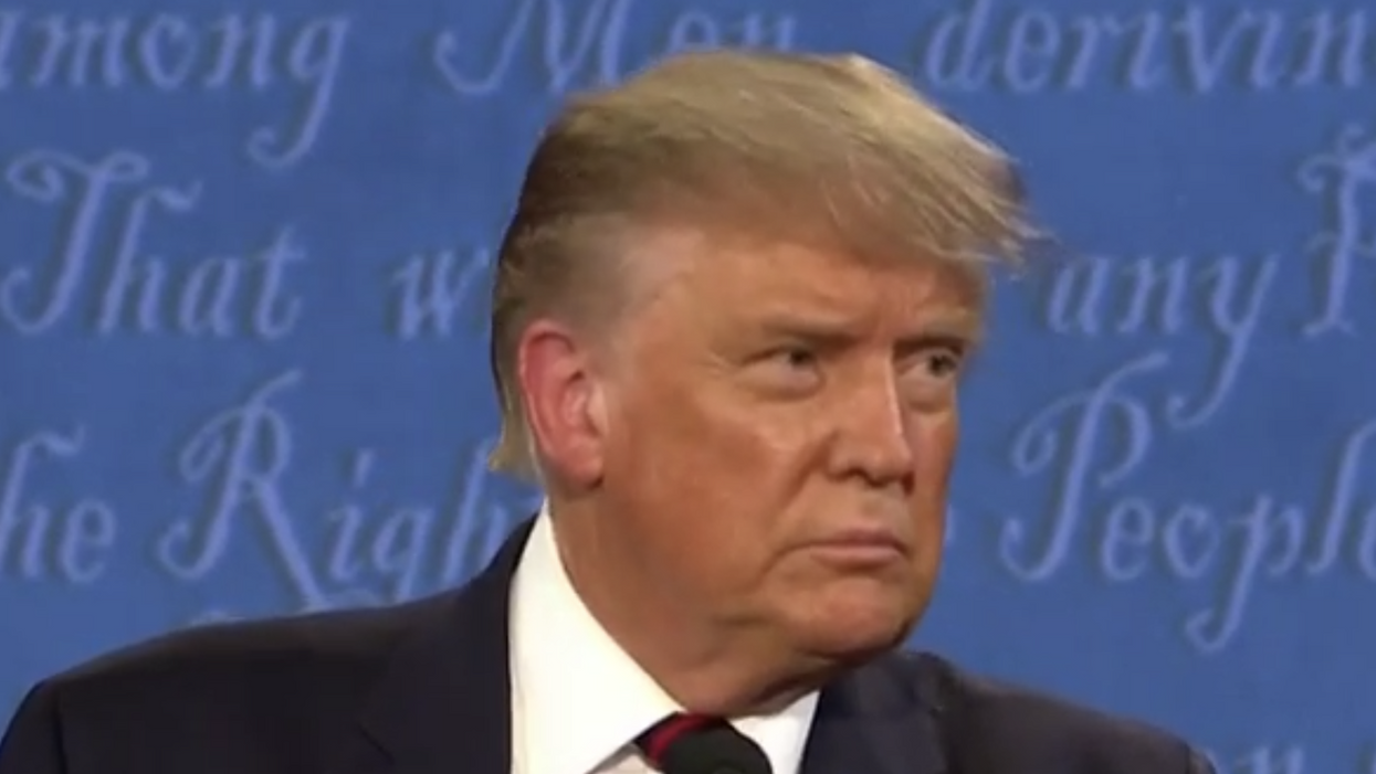 Here's the real reason Trump is running scared from another debate