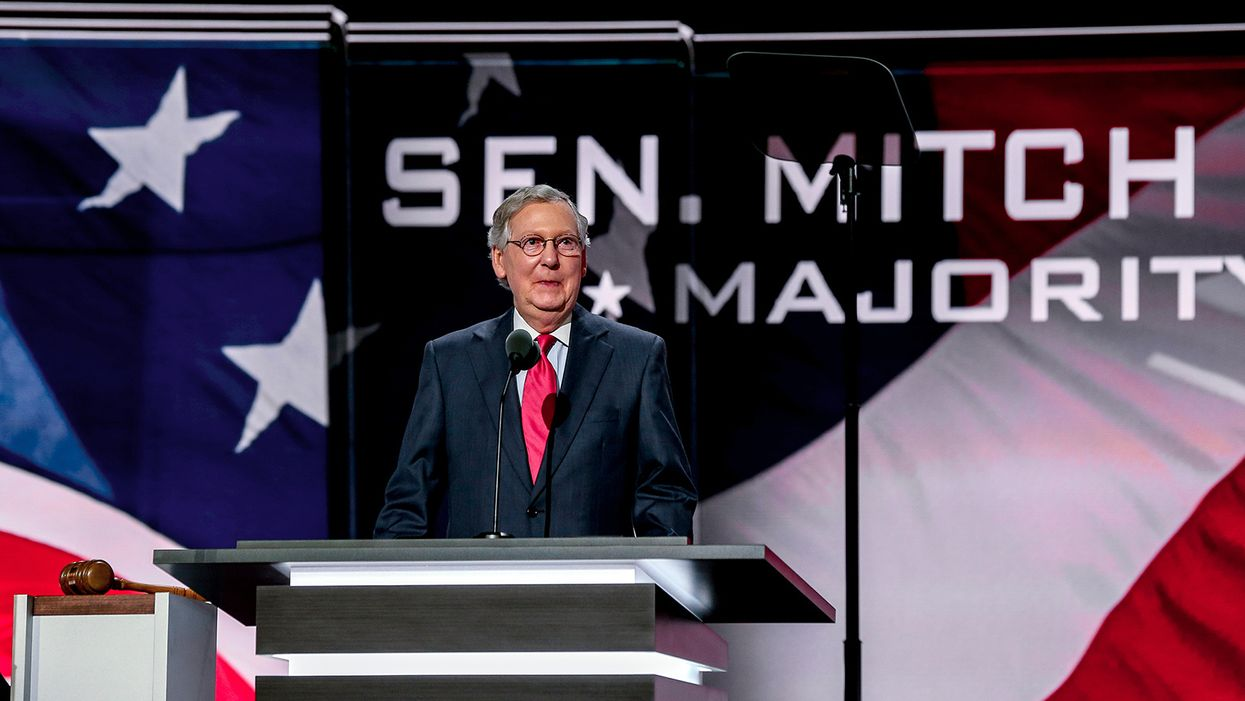Mitch McConnell: US Senate won't be in session this week — but confirmation hearings will go ahead as planned