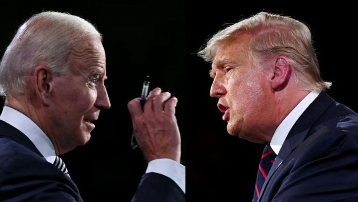 Trump brags about good town hall reviews -- but ratings signal a town hall win for Biden
