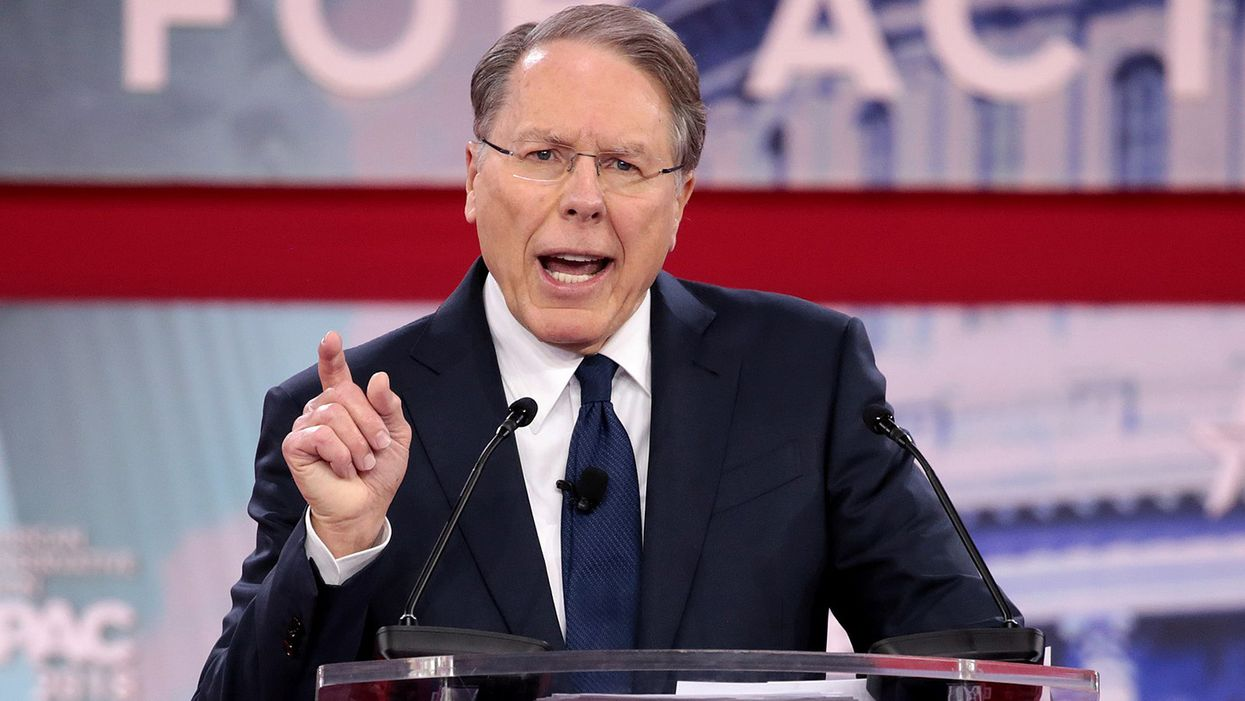 IRS probing NRA CEO Wayne LaPierre for possible criminal tax fraud: report