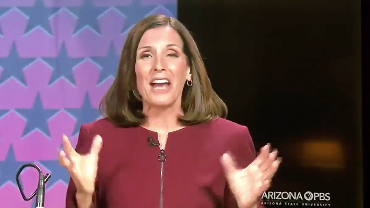 Watch: Martha McSally crashes and burns when repeatedly asks if she's proud to support Trump