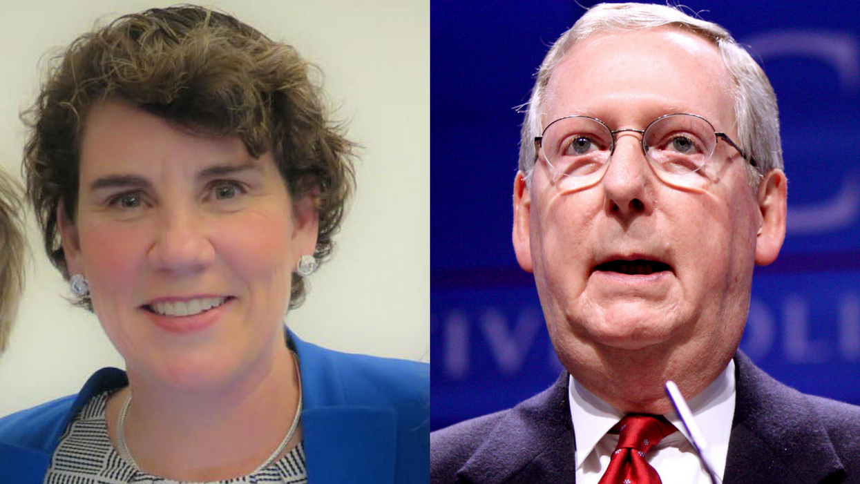 McConnell snaps at opponent Amy McGrath for requesting pre-debate COVID-19 testing