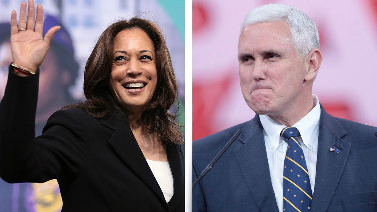 Widespread shock as 'completely inadequate' VP debate stage is revealed: 'Is this some kind of a joke?'