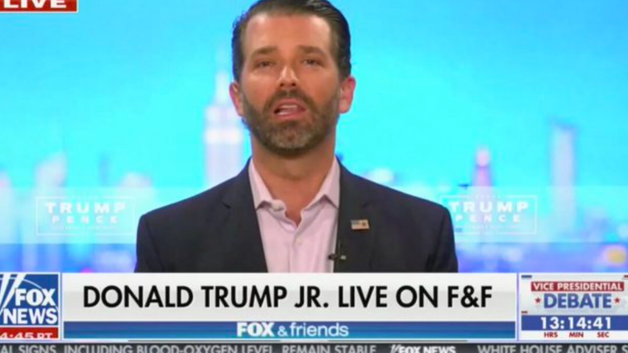 Donald Trump Jr. baselessly accuses Pelosi of having 'substance issues' during bizarre Fox interview