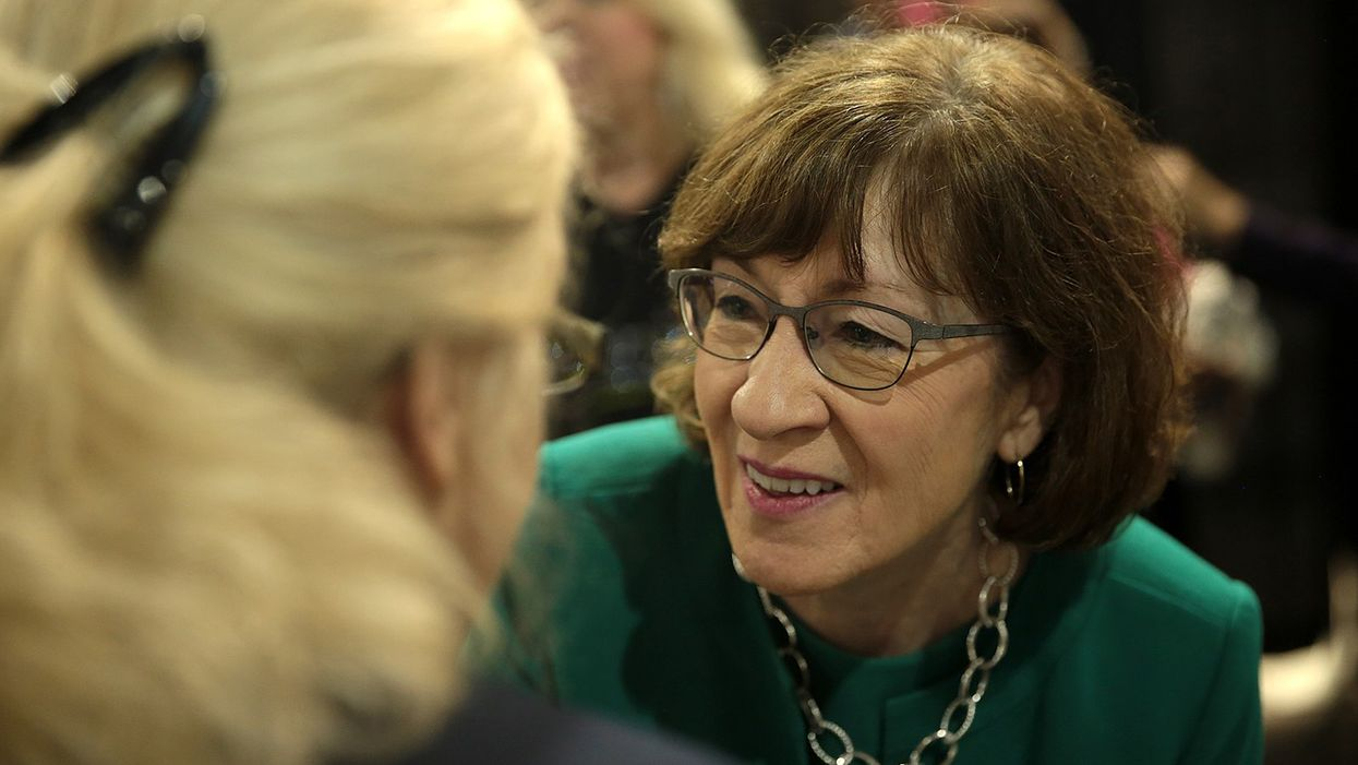 Susan Collins wrote legislation that made millions for her husband's consulting firm