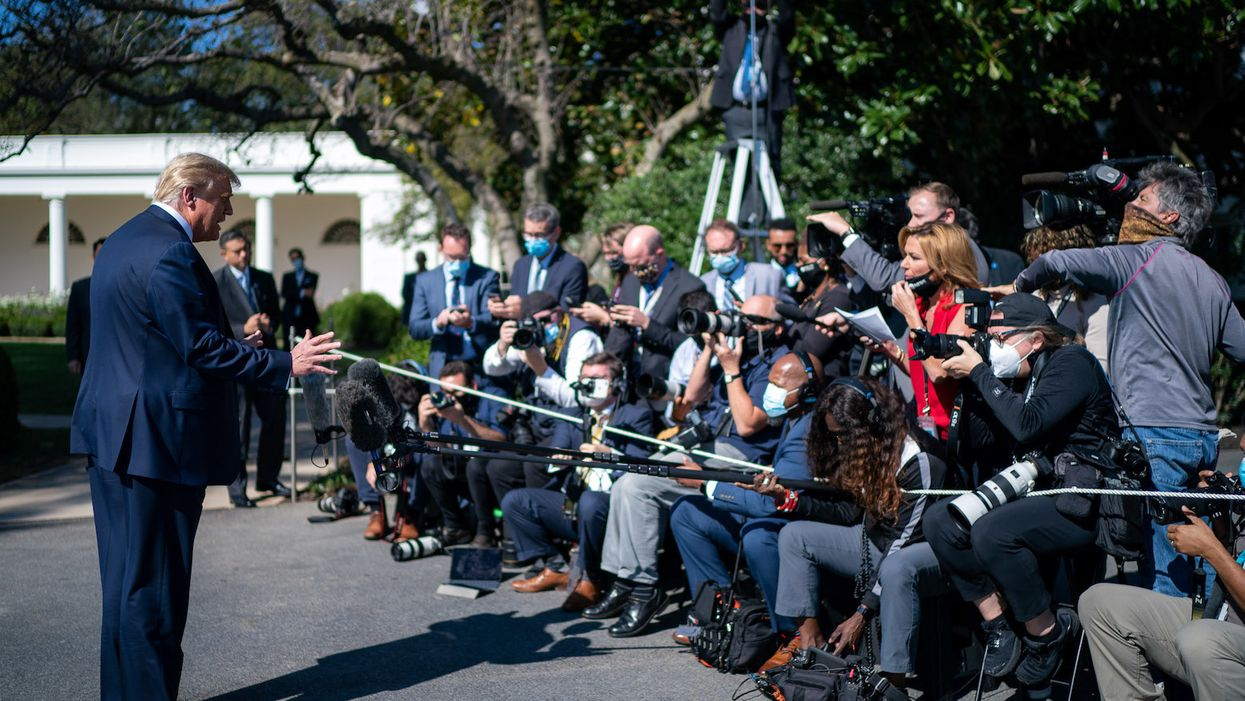 News outlet removes reporter from the White House press pool over safety concerns