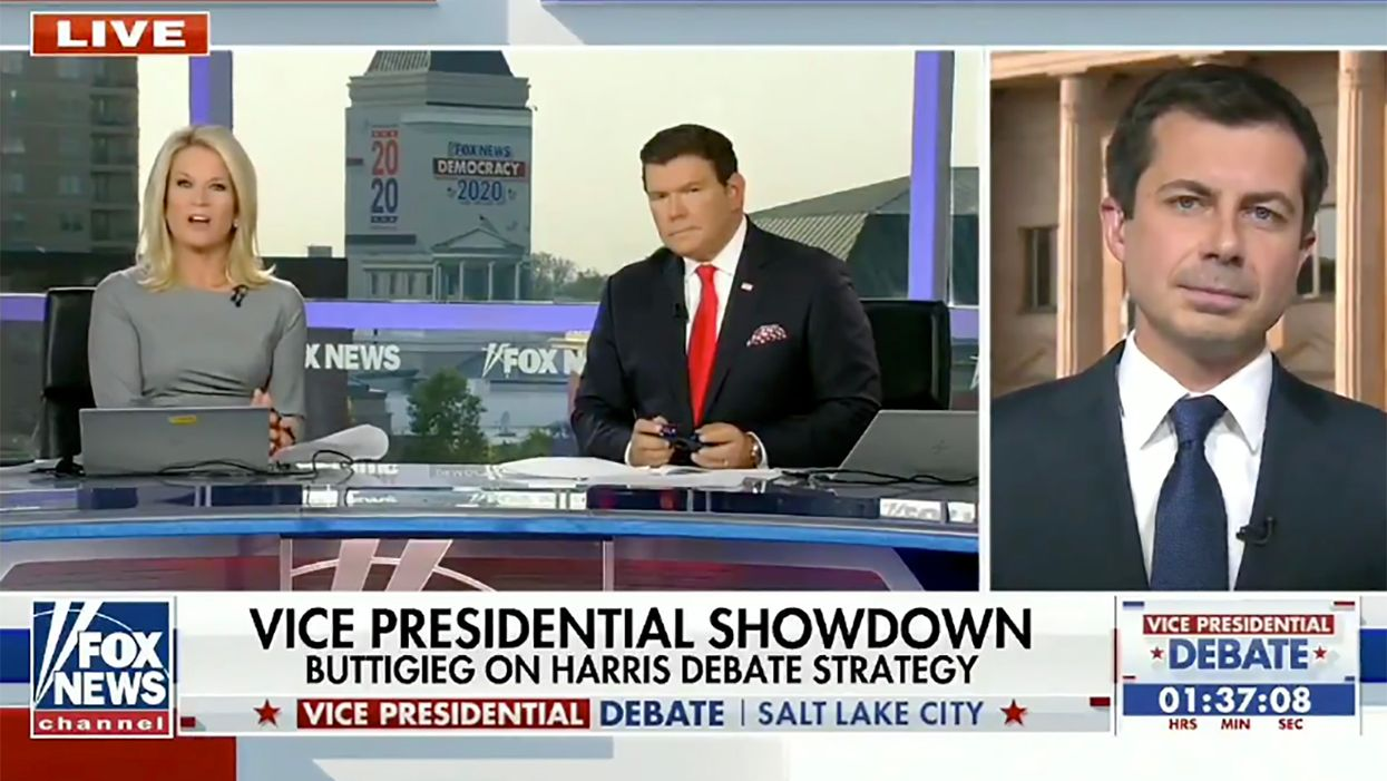 Watch: Pete Buttigieg dropped by a Fox News pre-debate segment and absolutely leveled the hosts
