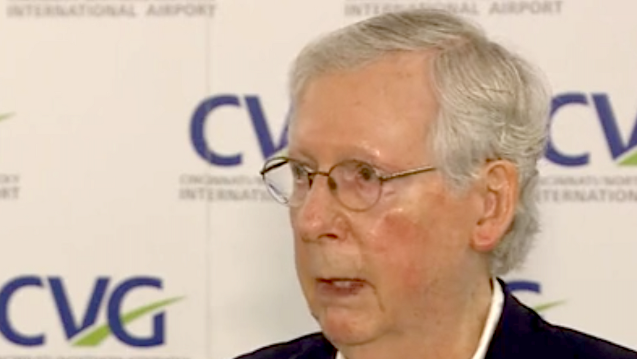 Mitch McConnell just admitted he's avoided the White House for months for safety reasons