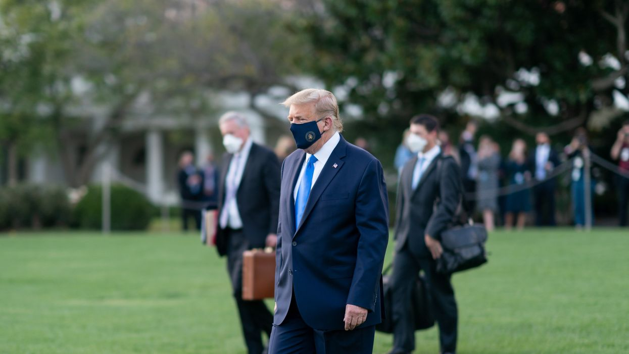 Donald Trump is not 'over' COVID-19. He's facing the most critical point in the disease right now