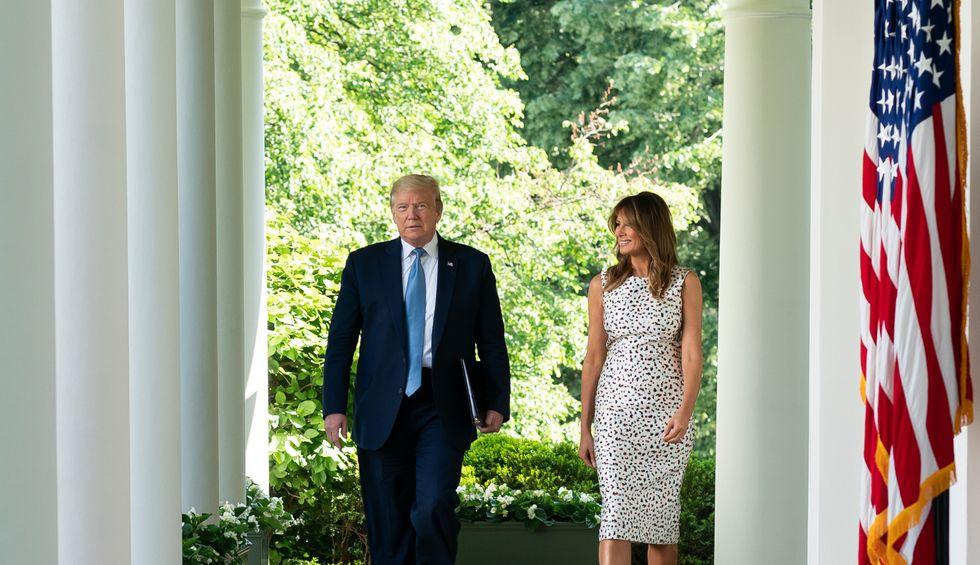 Melania Trump's new Rose Garden is already in need of repair: report