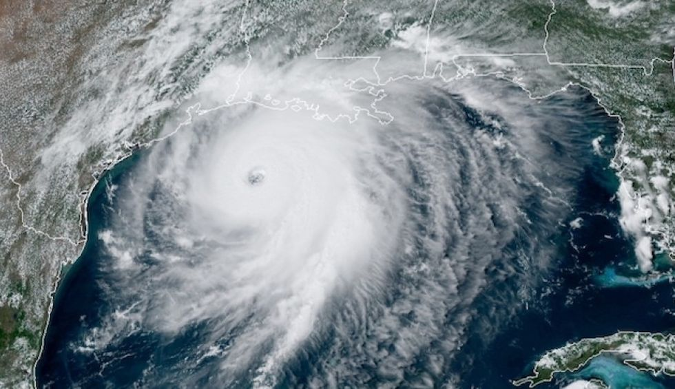Warning of 'unsurvivable' storm surge as category 4 Hurricane Laura barrels toward US
