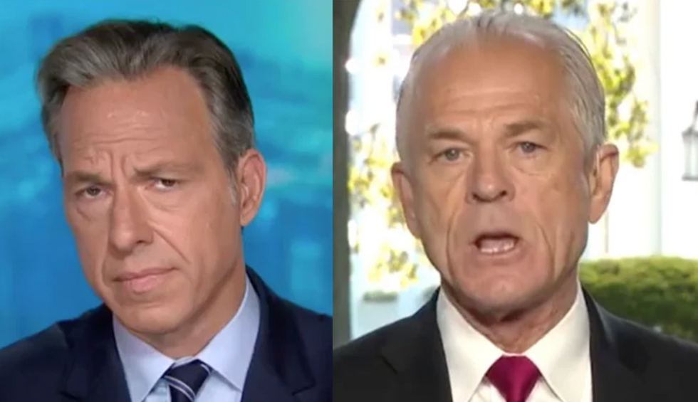 WATCH: CNN's Tapper shuts down Navarro interview over insults and lies about Trump's COVID-19 response