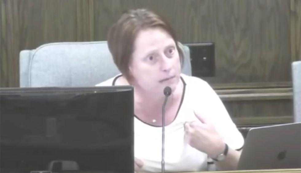 Watch this North Dakota councilwoman shut down a room of whining anti-LGBTQ bigots