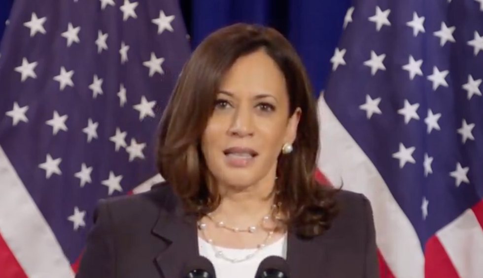 Kamala Harris delivers brutal takedown of Trump — says he 'froze' on COVID-19 and 'caved' to China