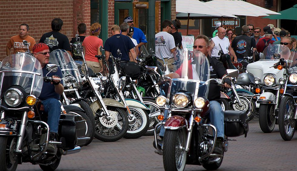 Cell phone data shows Sturgis rally attendees later visited 61% of US counties