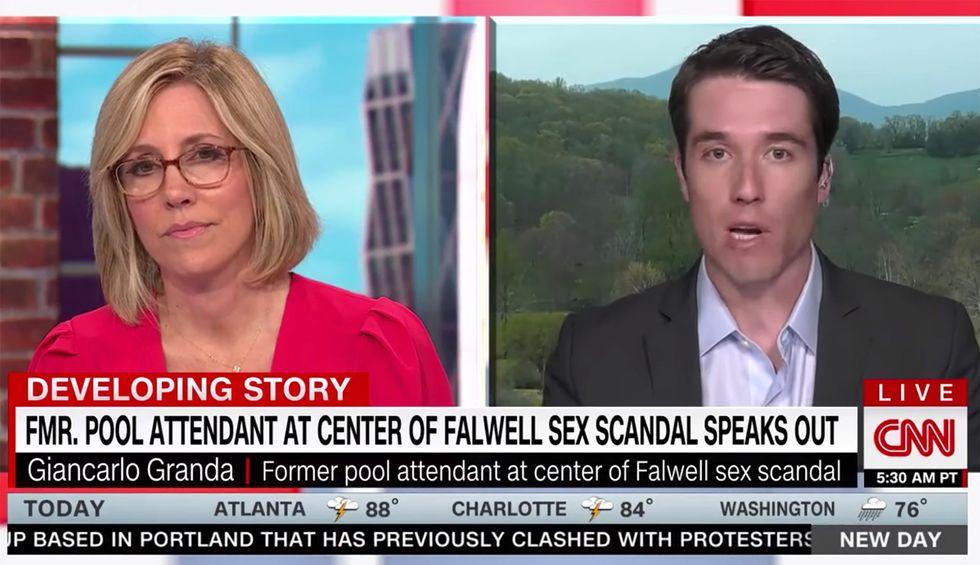 'Pool boy' breaks down Jerry Falwell Jr's 'predatory behavior' in CNN interview