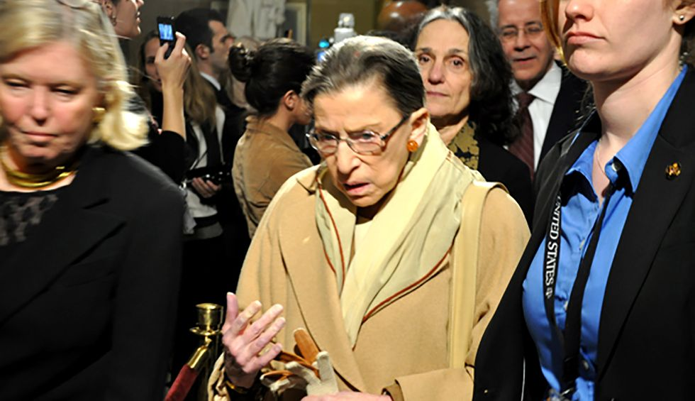 Ruth Bader Ginsburg and the peril of America's aging elite
