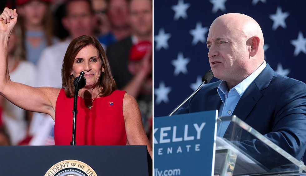 Arizona Senate race may determine future of Supreme Court — and McSally is down in 12 straight polls