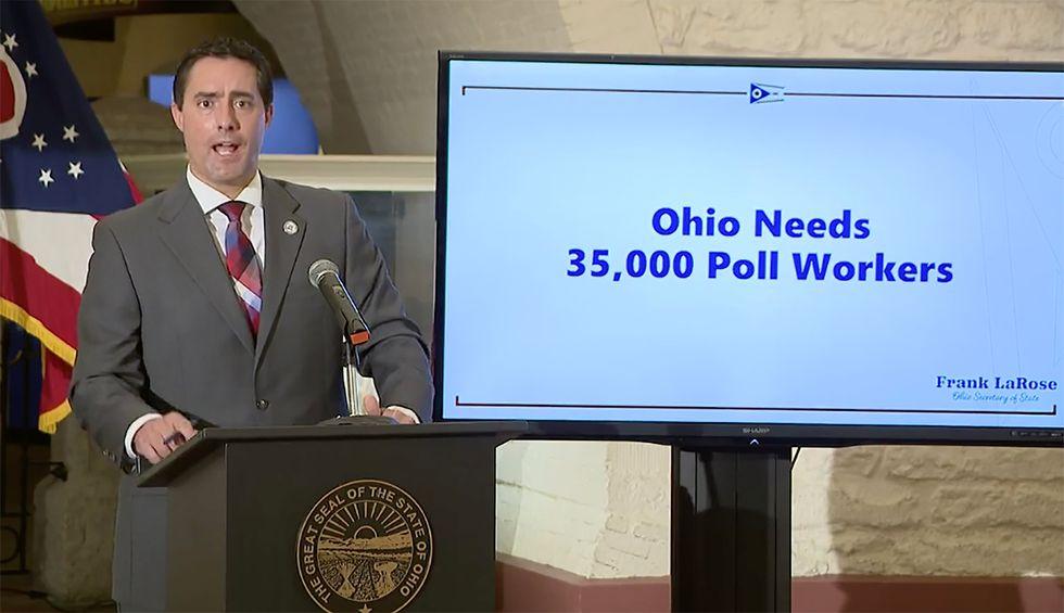 Ohio county judge smacks down GOP secretary of state's 'wholly arbitrary' ballot drop box directive