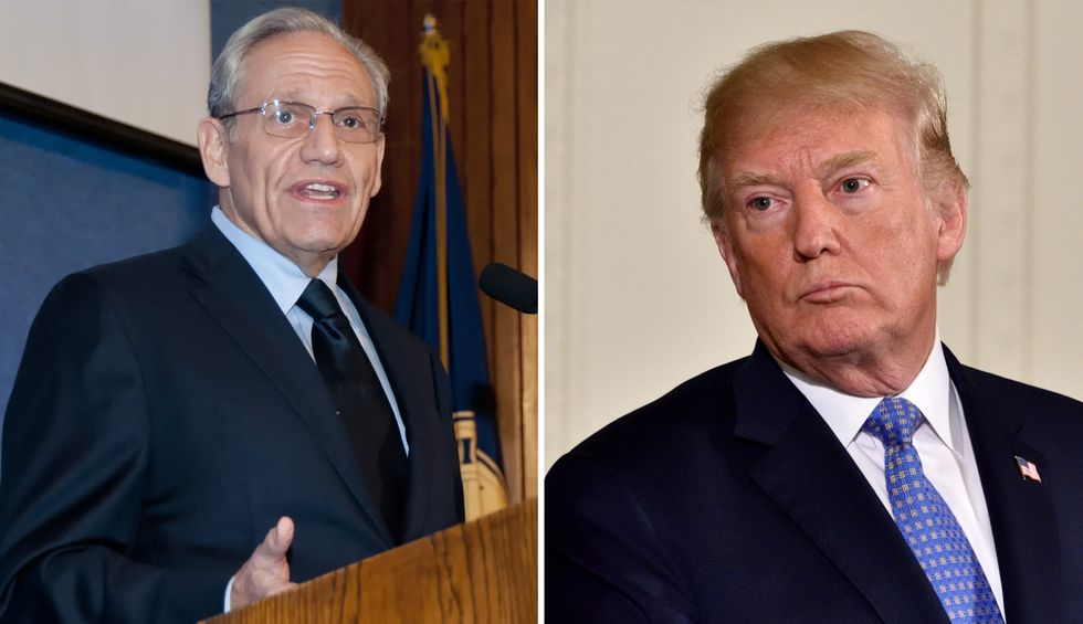 Trump told Woodward COVID-19 was a 'killer' that 'rips you apart' — while pushing for reopening: new excerpts