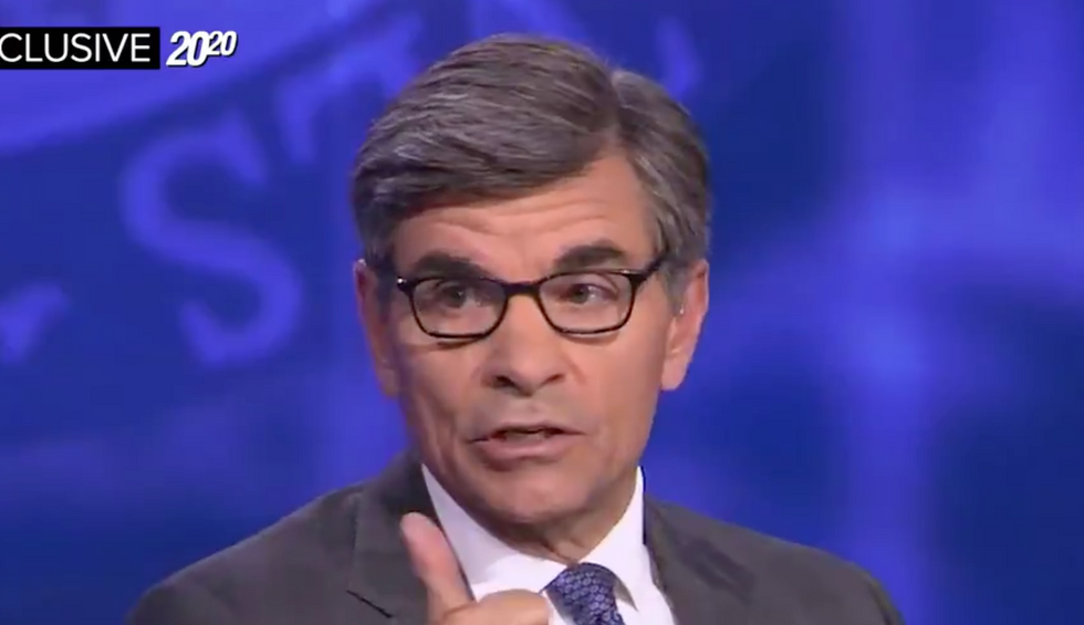 ABC anchor cuts Trump off in the middle of a stream of lies to deliver a brutal fact-check