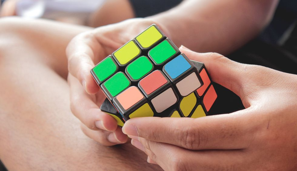 Ernő Rubik explains why his famous cube is a 'metaphor' for the human condition