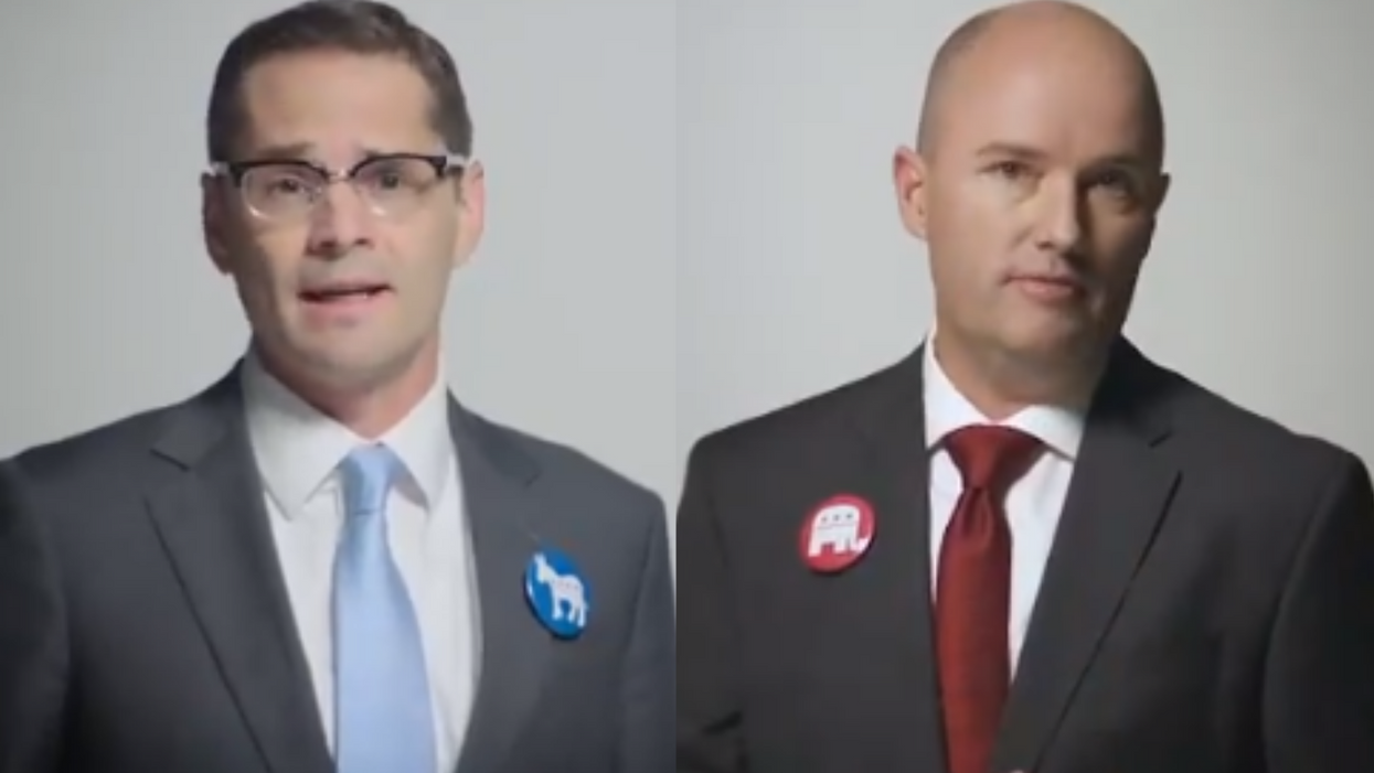 Utah gubernatorial hopefuls Lt. Gov and Dem opponent call for unity in joint ad: 'There's a better way'