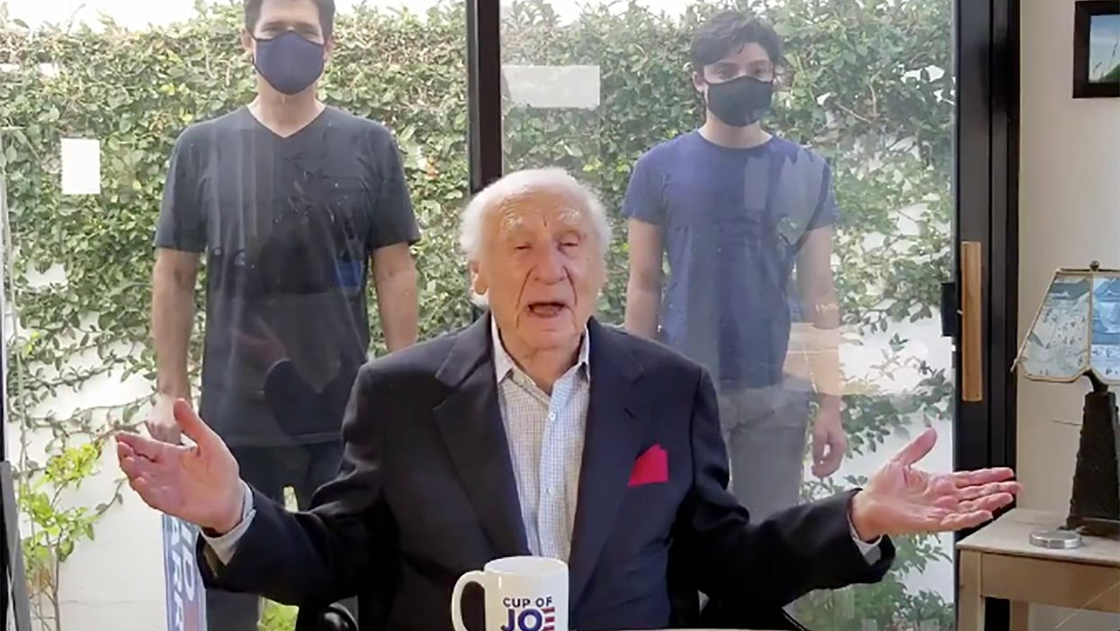 Watch: Comedy legend Mel Brooks releases his first-ever political video to endorse Joe Biden