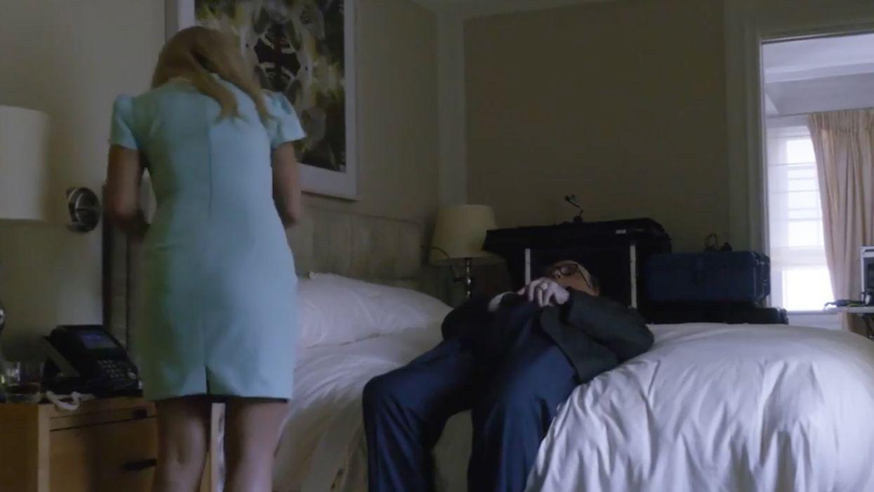 Rudy Giuliani calls NSFW Borat hotel room scene a 'hit job' in retaliation for recent Biden smear