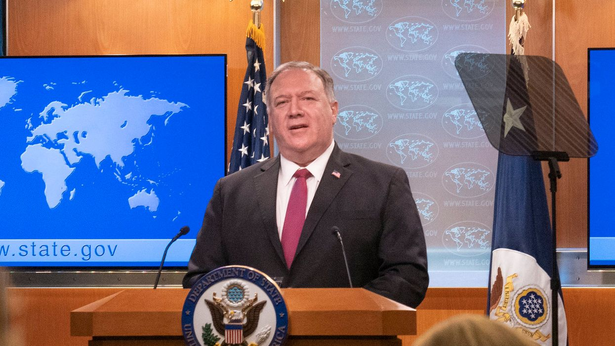 A watchdog zeroes in on Pompeo's shady email practices — even as he continues to slam Clinton