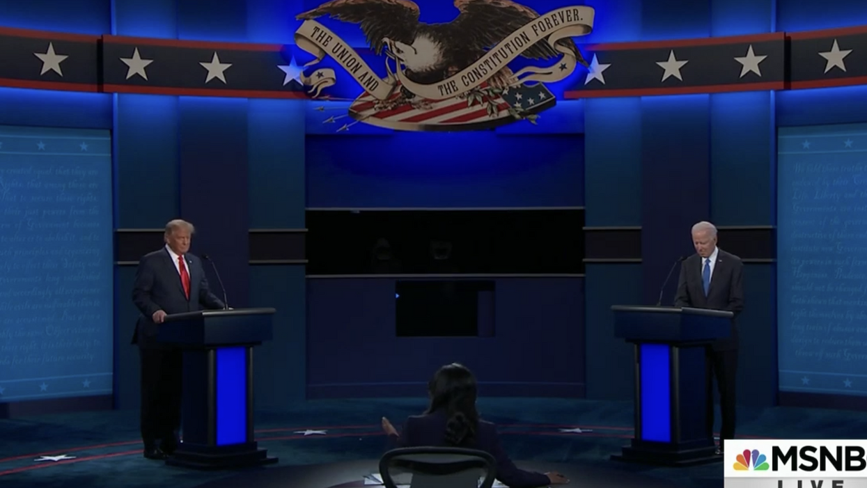 Here's what an expert in nonverbal communication saw in the Trump-Biden debate